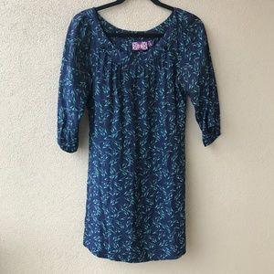 Yumi Kim Silk Zigzag Mini Dress
